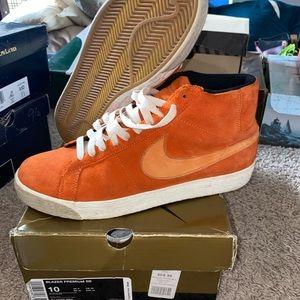 Nike Blazer Premium SB solar orange sz 10